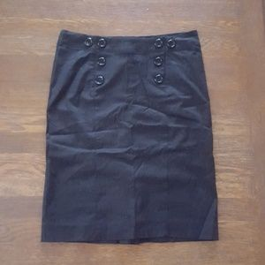 H&M sailor button skirt